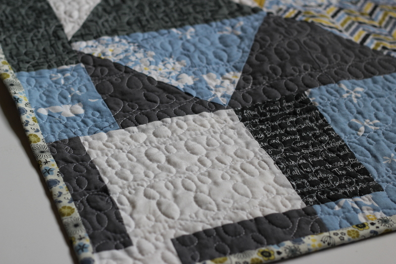 madrona road challenge- quilting closeup