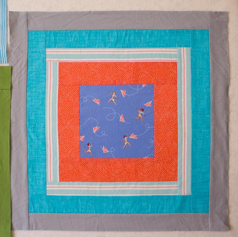 Oliver toddler quilt