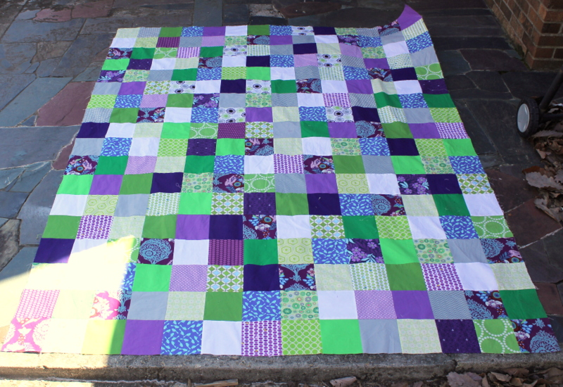 purple and green quilt | oliversfancy : blue and purple quilt - Adamdwight.com