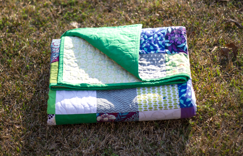 Ray's Patchwork quilt