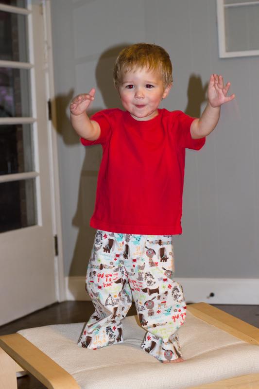 parsley pants- pajamas