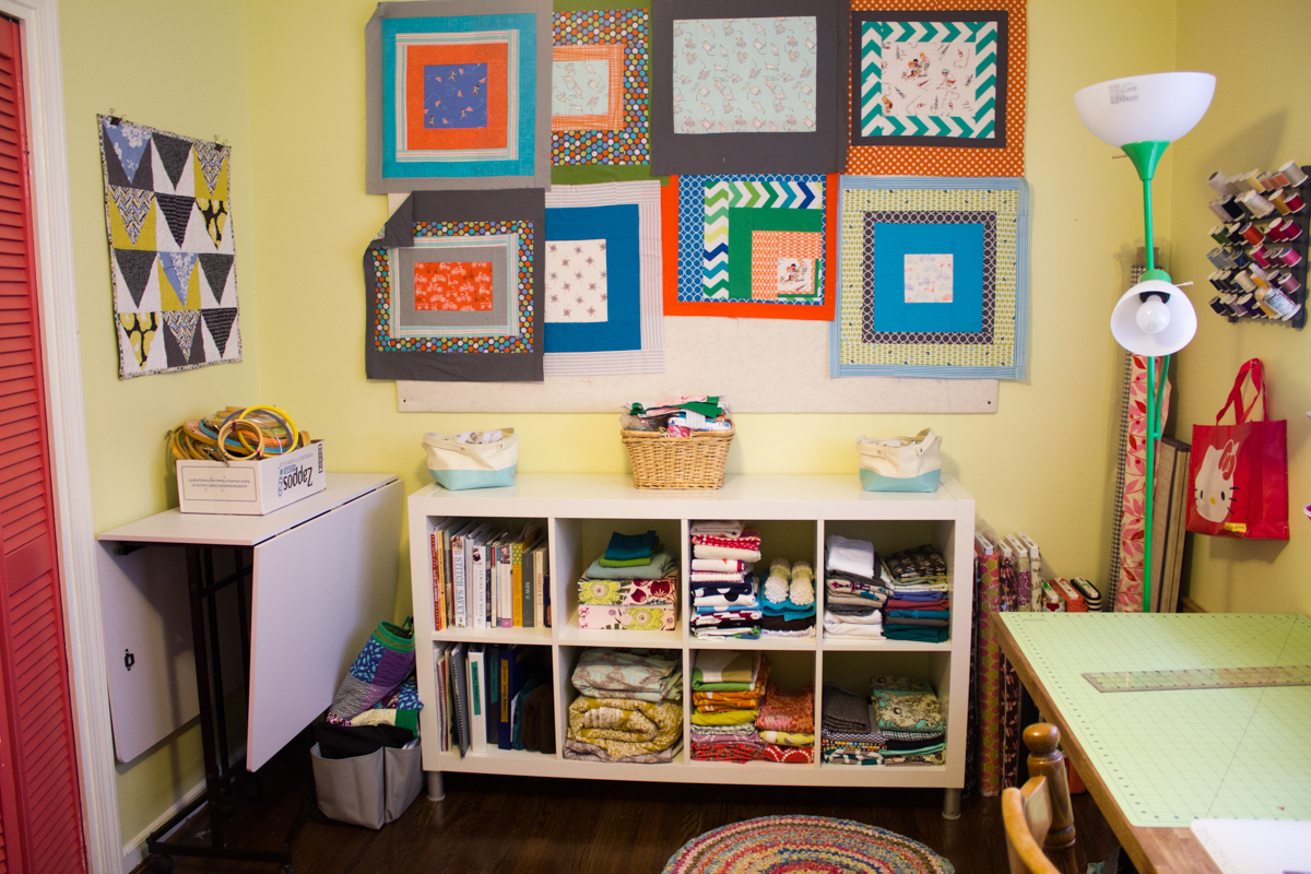 Sewing room remodel oliversfancy for Sewing room layout