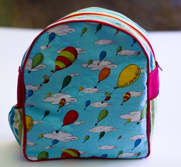 Dr Suess backpack