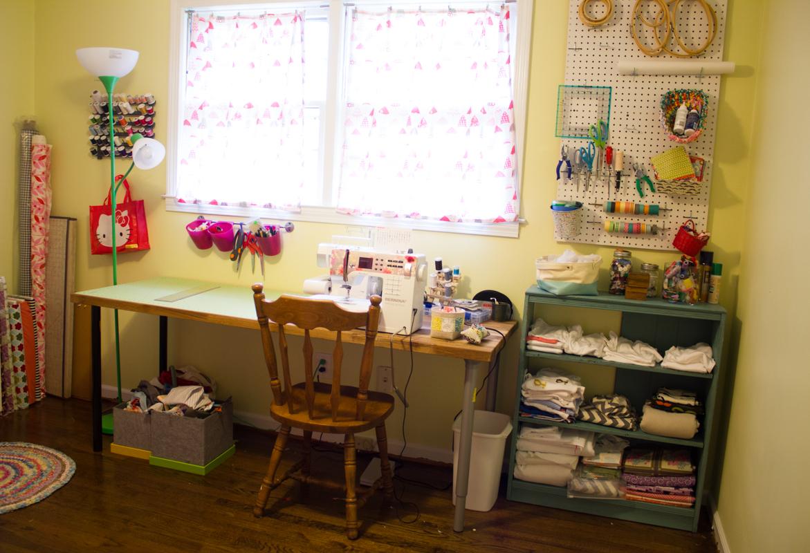 Sewing Room Remodel Oliversfancy