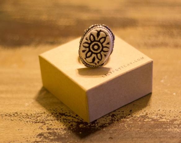 WON: Ring from Lily Pottery