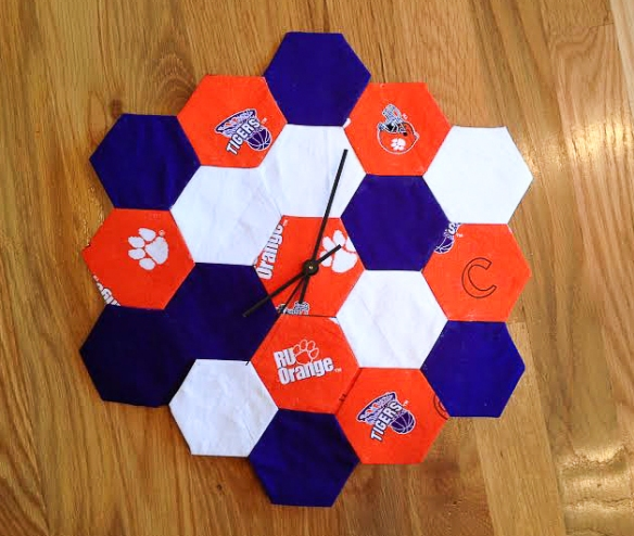 clemson clock