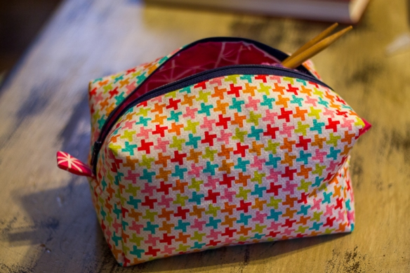 serger box bag