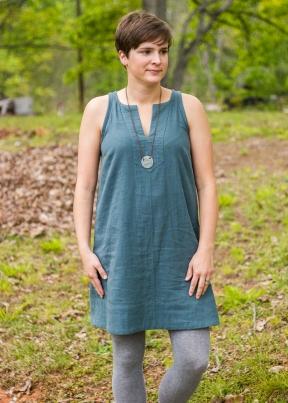 double gauze colfax dress (1 of 6)