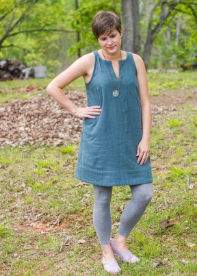 double gauze colfax dress (2 of 6)