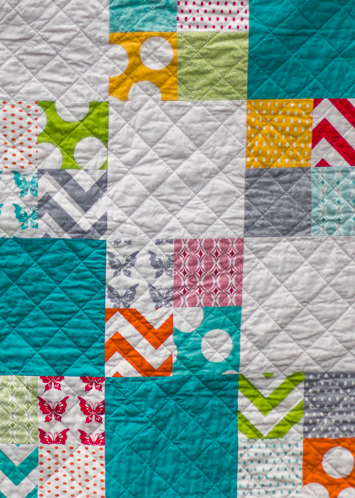 chloe's baby quilt (1 of 6)