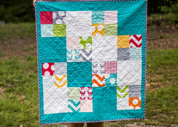 chloe's baby quilt (2 of 6)