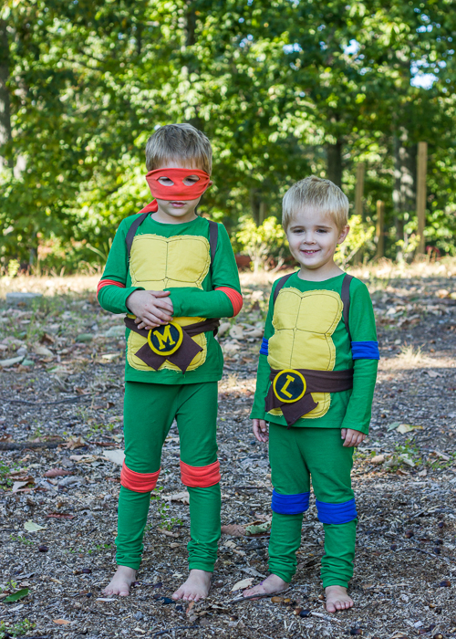 ninja-turtle-costumes-1-of-10  sc 1 st  Oliveru0027s Fancy & handmade ninja turtle costume | oliversfancy